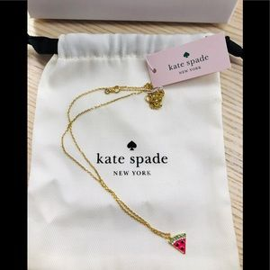 SOLD 🎀 BNWT Kate Spade Watermelon Necklace 🎀
